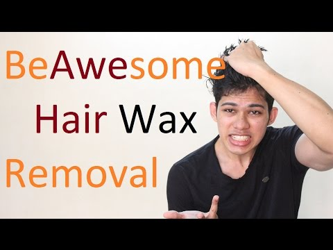 Easy Hair Wax Removal | Remove Hair Wax Without Damaging Hair
