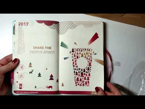 Singapore Starbucks by Moleskine 2018 planner unboxing!