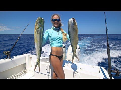 Florida Keys Offshore Mahi / Dolphin Fishing GoPro Video