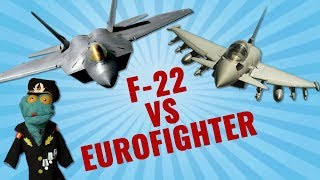 F-22 vs Eurofighter: In what ways does Typhoon beat Raptor? (A comprehensive analysis)
