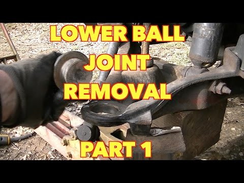 Front Lower Ball Joint Replacement....Ford, Expedition, Mountaineer, Explorer -PART 1
