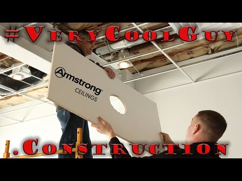 Project Armstrong Suspended Ceiling System - Part 2