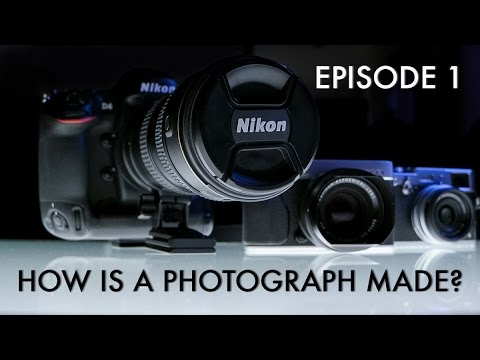Learn DSLR photography in Hindi - How is a Photograph made - Basics of photography  Episode 1