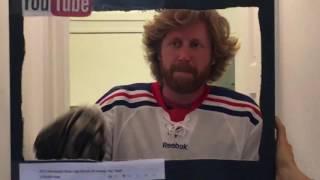 All Hockey Hair Team Halloween Costume?!