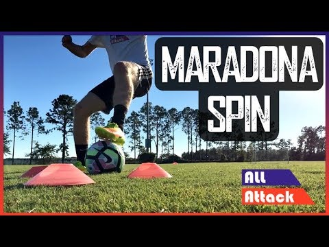 The Maradona Spin | Training