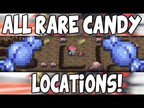 ALL Rare Candy Locations on Pokemon Platinum!