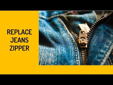 How To Replace A Jeans Zipper-FULL Version