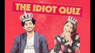 The Idiot Quiz ft. Sheheryar Munawar & Syra Shehroz | MangoBaaz
