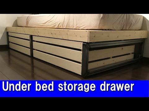 [DIY] Under bed storage drawer