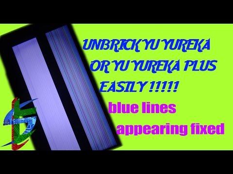 Blue lines(fixed) |UNBRICK (HARDBRICKED?) YUREKA / YUREKA