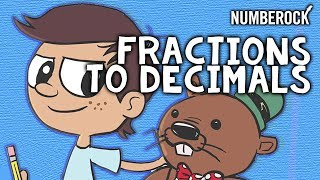 Converting Fractions To Decimals Song For Kids 5th Grade 6th Grade