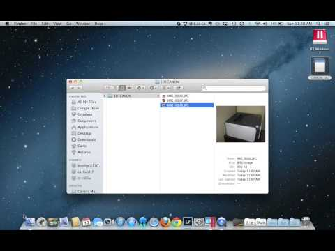 Moving Pictures from Your SD Card to Your Mac or PC