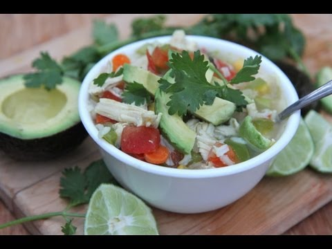 Fresh Mexican Chicken Soup Recipe