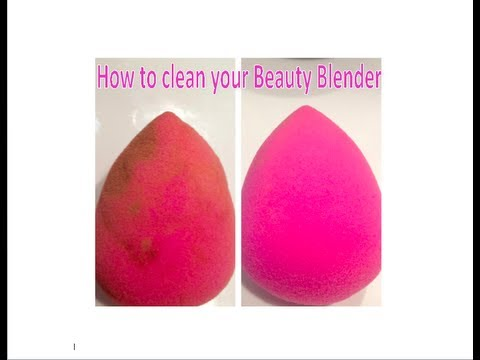 How to Clean your Beauty Blender and How to Reuse False Eyelashes
