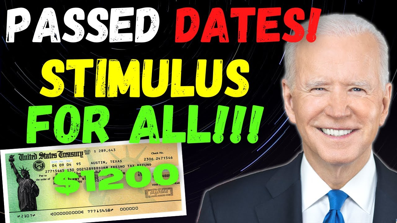 STIMULUS UPDATE - SENATE BILL PASSED! $1200 FOURTH STIMULUS CHECKS DATES UPDATE - DAILY NEWS