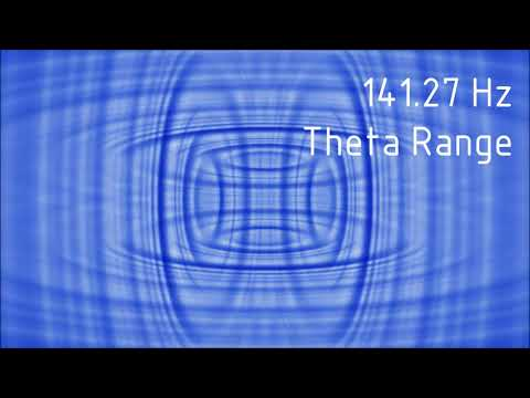 Pure 141.27 Hz Theta Range Binaural Beats [30 min]