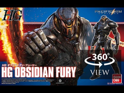 [360°Degree] HG 1/144 Obsidian Fury