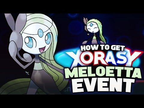 HOW TO GET MELOETTA! Mythical Pokemon Event - Pokemon XY Omega Ruby Alpha Sapphire Tutorial