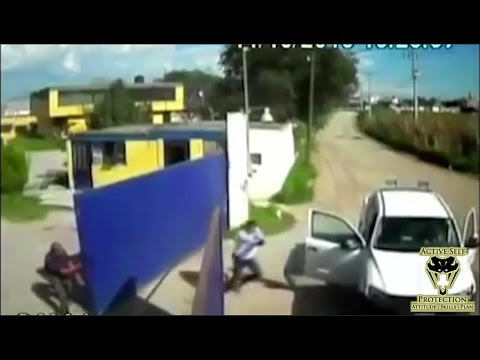 Armed Robbery Gunfight Caught on Camera | Active Self Protection