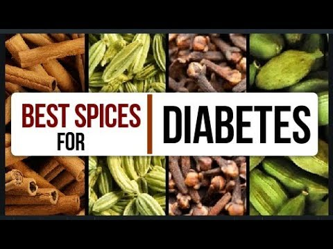 Spices Role In Diabetes | How to Lower Blood Sugar Using  Spices|