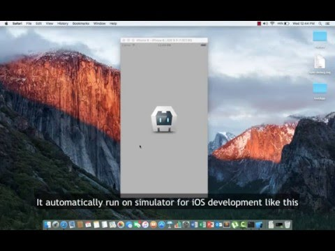 1. How to install Ionic Framework for iOS Development