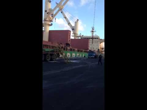 Mv DS MANATEE at Recife Port - Loading Operation #4