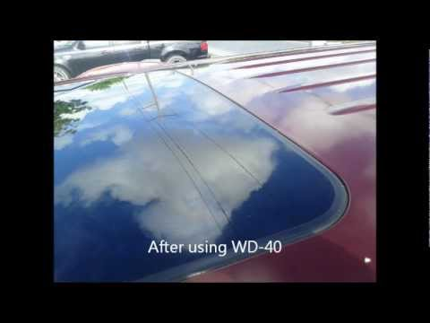 Remove Tape Residue from Car