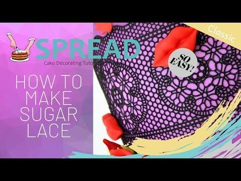 Sugar Lace Recipe