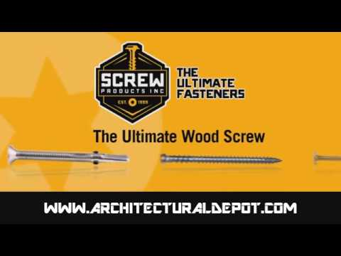 Screw Products Star Drive Screws...