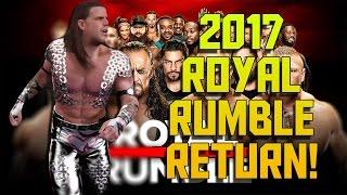 Shawn Michaels Returns! - WWE 2K17 Royal Rumble 2017 Full Match Sim