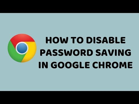 How to Disable Password Saving in Google Chrome | Easy Tutorials in Hindi