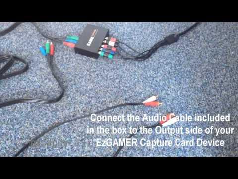 EZCAP.TV 152 EzGAMER Setup Tutorial