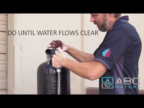 How To Rinse Your Upflow Carbon System by 602abcWATER