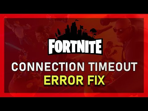 Fortnite - How to Fix Connection Timeout on Windows 10 - 2019