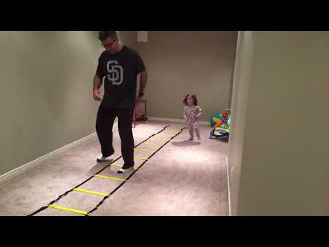 Ladder Drill: Icky Shuffle