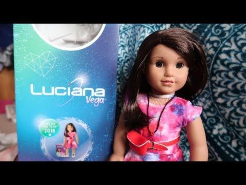 *Review* American Girl Luciana Vega Doll! GOTY 2018!