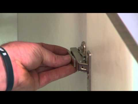 How To Install Push To Open Door Hinges - DIY At Bunnings