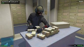 GTA 5 - Epic Bank Robbery with Franklin, Michael, and Trevor! ( GTA 5 Heists)