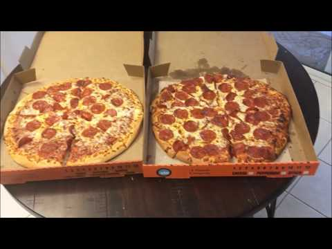 Little Caesars Hot-N-Ready VS Extra Most Bestest (Pizza Battle)