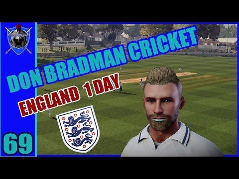 DON BRADMAN CRICKET on PS4 - BATSMEN CAREER # 69 - England One Day