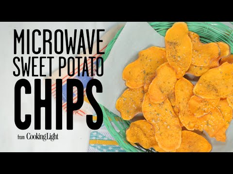 Microwave Sweet Potato Chips | Cooking Light