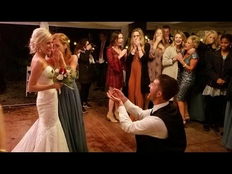 Bride Helps Sister Get Engaged at Her Own Wedding