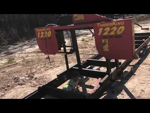 Hooking Up the Cable Feed for the Sawmill - Timber King 1220
