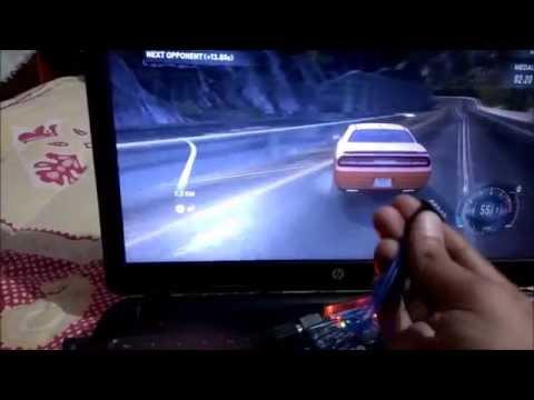 Gaming Console using Arduino