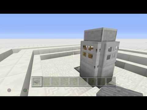 Minecraft Tardis bigger in the inside
