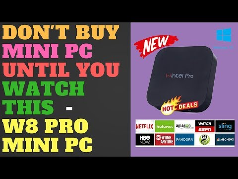 Don't Buy Mini PC Until You Watch This  - W8 Pro Mini PC