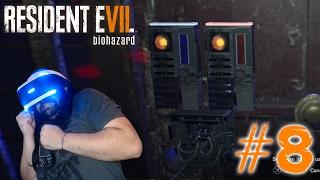 EN BUSQUEDA DE LAS TARJETAS! | PS4 | RESIDENT EVIL 7 VR #8
