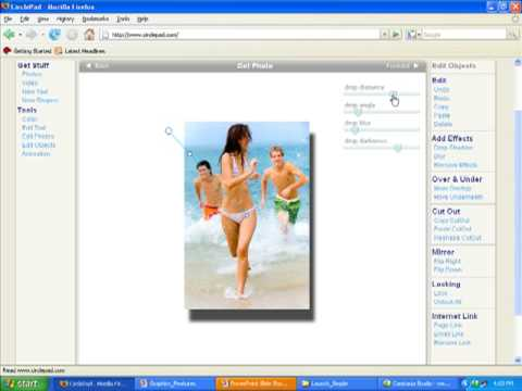 Web Site Builder Software - 4. Images And Video