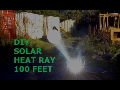 Low cost Global relief cooker Parabolic Archimedes Heat Ray Solar GreenPowerScience