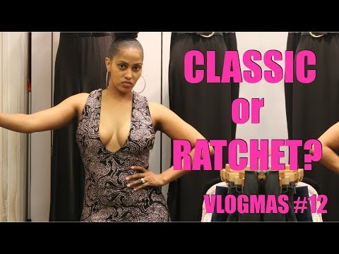HOLIDAY DRESS TRY ON! CELLULITE, ROLLS & ALL 💅🏽 |  #VLOGMAS with CHINA RENEE